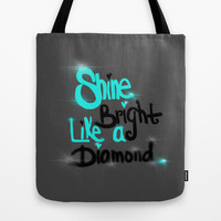 Diamonds Are A Girl's Bestfriend Tote Bag by Intrinsic Journeys
