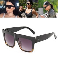 High Quality Luxury Brand Designer Fat Top Sunglasses Women Retro Shades Sun Glasses for Men Gafas Oculos De Sol Feminino M092