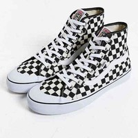 ONETOW Vans Black Ball Hi SF Checkered Sneaker