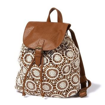 Crochet Backpack    Claire's
