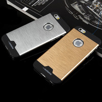metal cover case for iphone 4 4s aluminium luxury plastic protective battery hybrid iphone4/4s cases 4g gold red hard brand logo