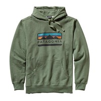 Patagonia Men's Tres Peaks Midweight Pullover Hoody | Camp Green