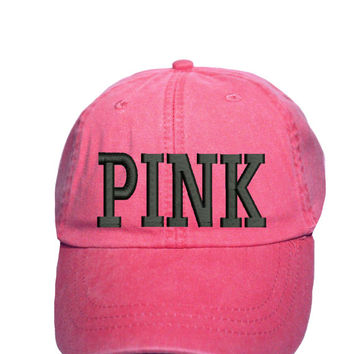 PINK baseball cap - Victorias Secret Pink - Pink Nation Gear - Victorias secret Baseball Cap - PINK - Victorias secret PINK - Baseball caps
