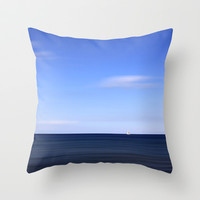 sailing Throw Pillow by findsFUNDSTUECKE