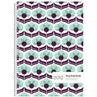 2012 BusyBodyBook Personal & Family Weekly GRID Organizer - Blueberry