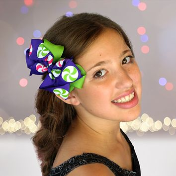 Girls Layered Boutique Hair Bow