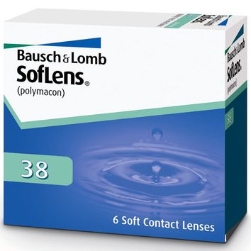 Bausch & Lomb SofLens 38 Contacts (6 pack)