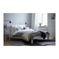 NORDLI Bed frame - white, Full  - IKEA