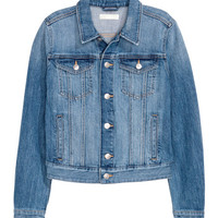 Short Denim Jacket - from H&M