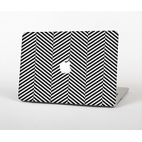 """The Black and White Opposite Stripes Skin for the Apple MacBook Air 13"""""""