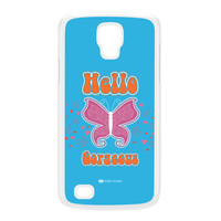 Sassy - Hello Gorgeous 10433 White Hard Plastic Case for Galaxy S4 Active by Sassy Slang