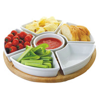 You should see this Lazy Susan 6 Piece Chip and Dip Set on Daily Fair!