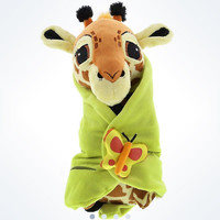 disney parks baby giraffe with blanket plush new with tags