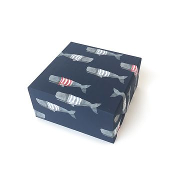 Swimming Frankies Gift Wrap (Roll of 3)