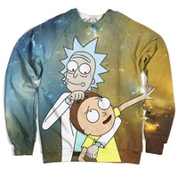 Rick Loves Morty Sweater