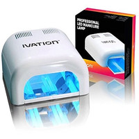 Nail Polish UV Light Dryer 36W Acrylic Gel Shellac Manicure Curing Lamp - Portable with Timer and Slide out Tray