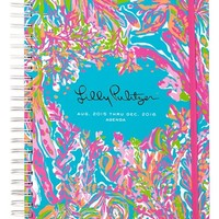 Lilly Pulitzer Jumbo 17-Month Agenda - Blue