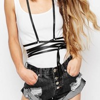 CLASSIC Leather Wrap Harness