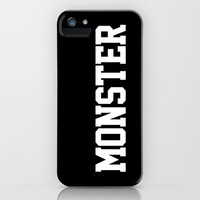 MONSTER iPhone & iPod Case by LookHUMAN