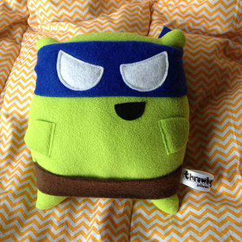 Turtle Pillow Fighter (Blue)