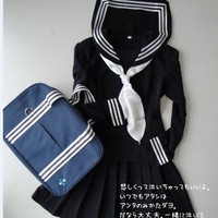 Japanese Japan School Girl Uniform Cosplay Costume New
