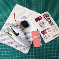 Off White X Nike Air Max 1 87 Joint White Sport Running Shoes - Best Online Sale