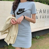 Trendsetter NIKE Women Fashion Bodycon Mini Dress