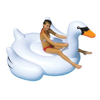 Inflatable Swan Pool Floats