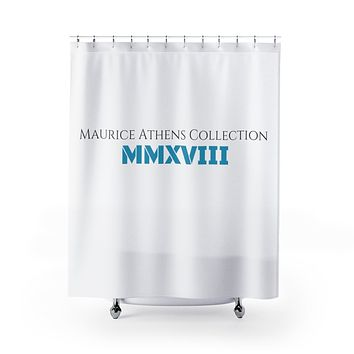 Maurice Athens Shower Curtains