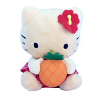 "6"" Hello Kitty Plush Hawaii Exclusive"