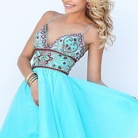 Sherri Hill Prom Dress with Fit and Flare Skirt