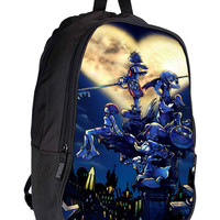 Walt Disney Kingdom Hearts fbf208f9-8991-4115-9482-da24feda563a for Backpack / Custom Bag / School Bag / Children Bag / Custom School Bag *02*