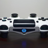 Overwatch PS4 Lightbar decal for your Sony Dualshock 4 Controller