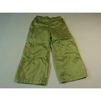 Green Dog Boys' Pants Nylon Polyester Male Kids 3T Greens Solid -- Used
