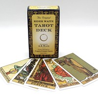 The Original Rider Waite Tarot Deck Full English Tarot Cards Game With English Booklet Instructions FREE SHIPPING
