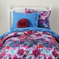 Girls Bedding: Flower Blossom Bedding Set in Quilts & Duvet Covers | The Land of Nod