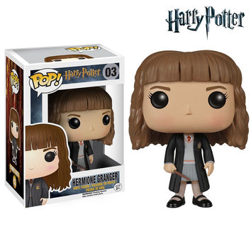 Funko Pop Movies Harry Potter Hermione Action Figure Jane Granger Collectible Model Toys Great Quality Christmas Gift
