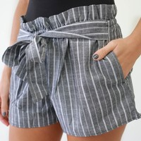 Come Spring Shorts - Charcoal
