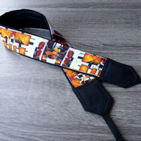 African Camera Strap. Ethnic Camera Strap. Birthday Gift. Photo Accessories