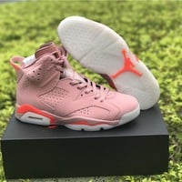 Air Jordan 6 Retro Millennial Pink AJ6 Sneakers - Best Deal Online