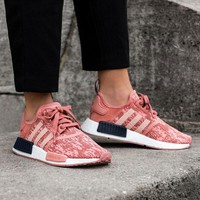 Best Online Sale Adidas NMD R1 Raw Pink/Trace Pink/Legend Ink BY9648  Boost Sport Running Shoes Classic Casual Shoes Sneakers