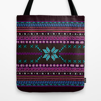 Aztec #1 Tote Bag by Emiliano Morciano (Ateyo)