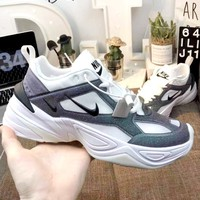 Nike M2K Tekno new men's and women's gradient sneakers