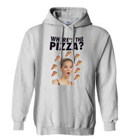 Jennifer Lawrence Where s the Pizza Hoodie for Mens Hoodie and Womens Hoodie *