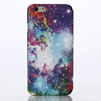 Galaxy Leather Case Cover for iPhone 6S 6 Plus Samsung Galaxy S6