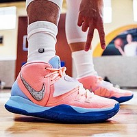 Nike Kyrie 6 Fashionable Men Casual Sport Basketball Shoes Sneakers Pink