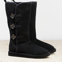 AEO Women's Tall Buttoned Cozy Boot