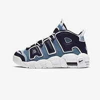 """Nike Air More Uptempo """"Denim"""" Toddler Kid Shoes Child Sneakers - Best Deal Online"""