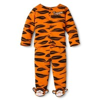 Disney® Newborn Boys' Tigger Footed Pant Set - Orange