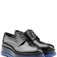 Jil Sander - Leather Platform Lace-Ups